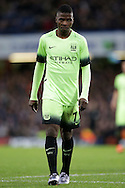 Kelechi Iheanacho of Manchester City looks on. The Emirates FA Cup, 5th round match, Chelsea v Manchester city at Stamford Bridge in London on Sunday 21st Feb 2016.<br /> pic by John Patrick Fletcher, Andrew Orchard sports photography.