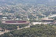 Belo Horizonte_MG, 07 de abril de 2009...Imagens aereas da capital mineira.  ..Foto: BRUNO MAGALHAES / NITRO