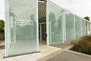 The visitor center at the Christchurch Botanic Gardens, Christchurch, Canterbury, South Island, New Zealand
