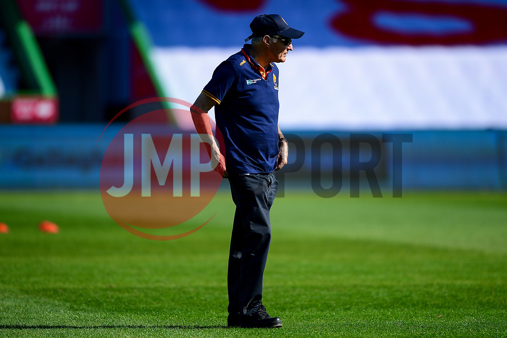 Worcester Warriors director of rugby Alan Solomons prior to kick off - Mandatory by-line: Ryan Hiscott/JMP - 13/09/2020 - RUGBY - Twickenham Stoop - London, England - London Irish v Worcester Warriors - Gallagher Premiership Rugby