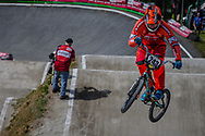 #243 (KIMMANN Justin) NED during round 4 of the 2017 UCI BMX  Supercross World Cup in Zolder, Belgium.