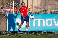 Jonathan Castro during the training of Spanish national team under 21 at Ciudad del El futbol  in Madrid, Spain. March 21, 2017. (ALTERPHOTOS / Rodrigo Jimenez)