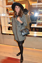 AMBRA MEDDA at the Roger Vivier 'The Perfect Pair' Frieze cocktail party celebrating Ambra Medda & 'Miss Viv' at the Roger Vivier Boutique, Sloane Street, London on 15th October 2014.