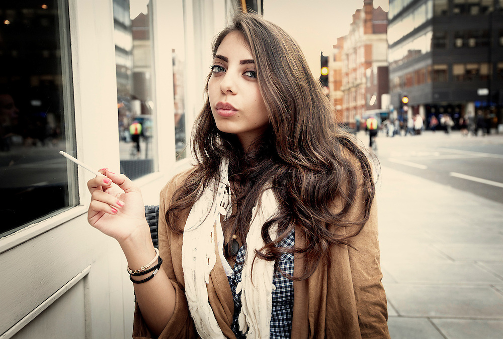 Saudi Arabian student, Marylebone, London