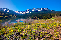 Trout Lake, Lizard Head Pass, near Telluride, Colorado USA