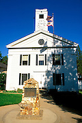 The Mariposa County Courthouse (California's oldest - in continuous use since 1854), Mariposa, Gold Country (Highway 49), California