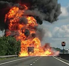 M11 Lorry Fire