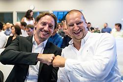 Miha Rakar and Matej Erjavec during #gogitalk and SporTech Stars event, on June 18, 2019, in Ljubljana, Slovenia. Photo by Matic Klansek Velej / Sportida