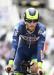July 22, 2017 - Marseille, FRANCE - Belgian Pieter Vanspeybrouck of Wanty - Groupe Gobert crosses the finish line, in the twentieth stage of the 104th edition of the Tour de France cycling race, an individual time trial in Marseille, France, Saturday 22 July 2017. This year's Tour de France takes place from July first to July 23rd...BELGA PHOTO YORICK JANSENS (Credit Image: © Yorick Jansens/Belga via ZUMA Press)