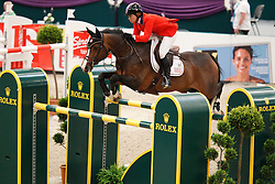 Madden Beezie (USA) - Coral Reef Via Volo <br /> Rolex FEI World Cup Final Jumping 2011<br /> © Hippo Foto - Leanjo de Koster