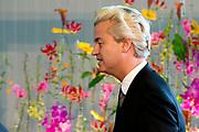 Nationale Herdenking voor de slachtoffers van vlucht MH17 in de RAI , Amsterdam.<br /> <br /> National Memorial for the victims of flight MH17 in the RAI , Amsterdam.<br /> <br /> Op de foto / On the photo: <br /> <br />  PVV-leider Geert Wilders