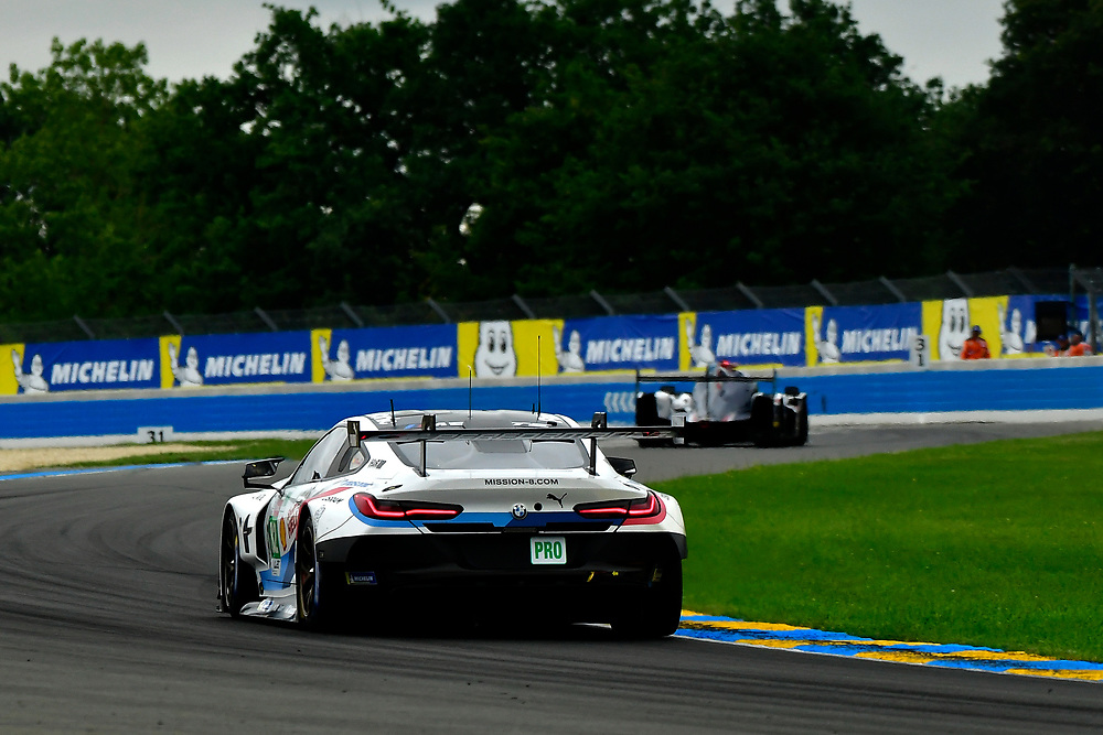 #82 BMW Team MTEK BMW M8 GTE: Antonio Felix da Costa, Alexander Sims, Augusto Farfus<br /> Thursday 14 June 2018<br /> 24 Hours of Le Mans<br /> 2018 24 Hours of Le Mans<br /> Circuit de la Sarthe  FR<br /> World Copyright: Scott R LePage