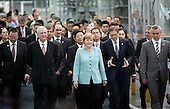 German Chancellor Angela Merkel Visits Chengdu