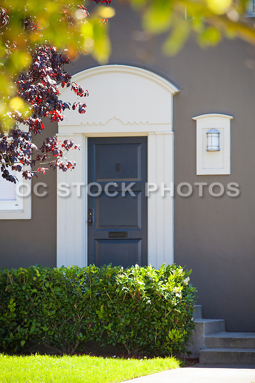 An Inviting Front Door that is Warm and Welcoming.