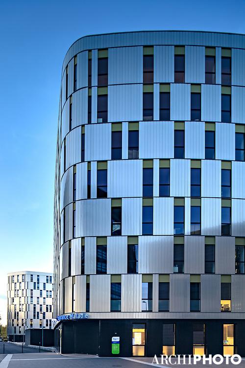 AS.Architecture-Studio • Clémenceau and Marbotte Plaza Office Buildings, Dijon