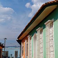 Central America, Cuba, Trinidad. Streets of Trinidad, Cuba.