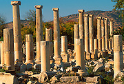TURKEY, GREEK AND ROMAN Aphrodisias; Tiberius Portico
