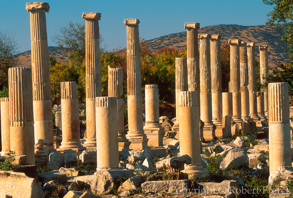 TURKEY, GREEK AND ROMAN Aphrodisias; Tiberius Portico