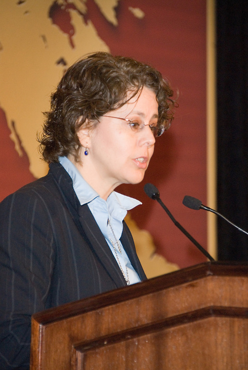 Cecilia Muñoz, Director of White House Intergovernmental Affairsaddresses the Latina Legislative Luncheon at the United States Hispanic Chamber of Commerce's 19th Annual Legislative Conference, in Washington, DC, Tuesday, March 10, 2009.