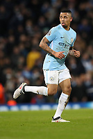 Football - 2017 / 2018 UEFA Champions League - Round of Sixteen, Second Leg: Manchester City (4) vs. FC Basel (0)<br /> <br /> Gabriel Jesus of Manchester City at The Etihad.<br /> <br /> COLORSPORT