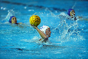 USA (white) -Canada women's water polo action at the 1999 Pan American Games.