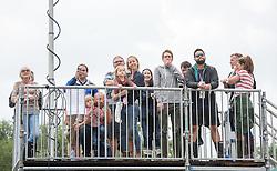 ©London News Pictures. Glastonbury Festival 2015<br /> <br /> LIONEL RICHIE performs on Pyramid stage on Sunday during Glastonbury Festival 2015, Worthy Farm, Pilton.<br /> <br /> Date: 28/06/2015<br /> Photographer: Artur Lesniak /LNP