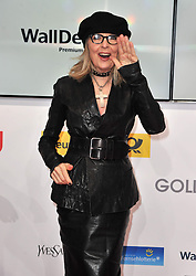Diane Keaton attend the Goldene Kamera 2014 at Tempelhof Airport Hangar 7, Berlin, Germany, Saturday, 1st February 2014. Picture by  Schneider-Press / i-Images<br /> UK & USA ONLY