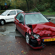 Ongeval Gooilandweg - Haardstedelaan Huizen