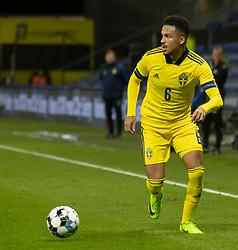 Martin Olsson (Sverige) under venskabskampen mellem Danmark og Sverige den 11. november 2020 på Brøndby Stadion (Foto: Claus Birch).