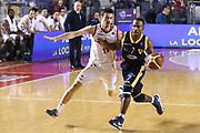 DESCRIZIONE : Roma Campionato Lega A 2013-14 Acea Virtus Roma Sutor Montegranaro<br /> GIOCATORE : Josh Mayo<br /> CATEGORIA : palleggio contropiede<br /> SQUADRA : Sutor Montegranaro<br /> EVENTO : Campionato Lega A 2013-2014<br /> GARA : Acea Virtus Roma Sutor Montegranaro<br /> DATA : 18/01/2014<br /> SPORT : Pallacanestro<br /> AUTORE : Agenzia Ciamillo-Castoria/M.Simoni<br /> Galleria : Lega Basket A 2013-2014<br /> Fotonotizia : Roma Campionato Lega A 2013-14 Acea Virtus Roma Sutor Montegranaro<br /> Predefinita :
