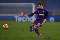 Davide Astori Fiorentina.<br /> Roma 18-12-2016  Stadio Olimpico<br /> Campionato Serie A, Derby<br /> Lazio -  Fiorentina<br /> Foto Antonietta Baldassarre / Insidefoto<br /> Fiorentina captain Davide Astori dies suddenly aged 31 . <br /> Astori was staying a hotel with his team-mates ahead of their game on Sunday away at Udinese when he passed away. <br /> Foto Insidefoto