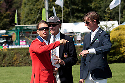 Maher Ben (GBR), Morris George (USA)<br /> The Longines Royal International Horse Show<br /> Hickstead 2011<br /> © Hippo Foto - Beatrice Scudo