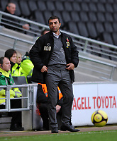 Fotball<br /> England<br /> Foto: Fotosports/Digitalsport<br /> NORWAY ONLY<br /> <br /> Milton Keynes Dons v Bradford FA Cup 1st Round 08.11.08 <br /> <br /> Roberto Di Matteo MK Dons manager during the game
