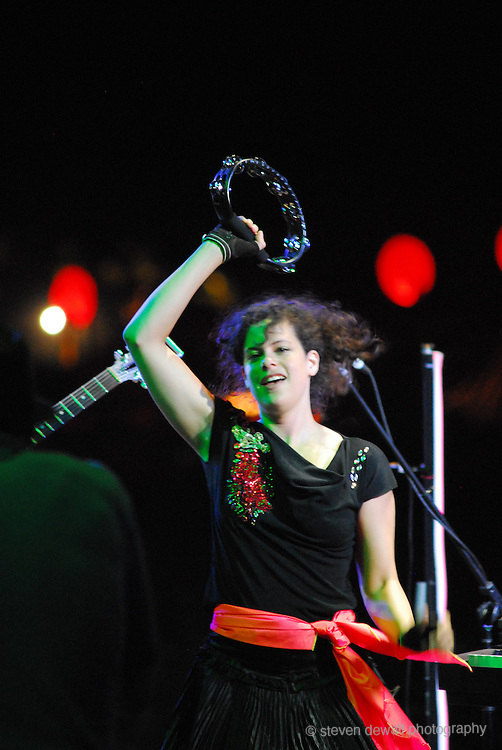 Arcade Fire performs at Coachella Music Festival in Indio, CA.