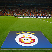Galatasaray's and Atletico Madrid's during their UEFA Champions League Group Stage Group C soccer match Galatasaray between Atletico Madrid at the Ali Sami Yen Spor Kompleksi in Istanbul, Turkey on Tuesday 15 September 2015. Photo by Aykut AKICI/TURKPIX