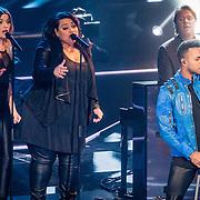 NLD/Hilversum/20170120 - 2de liveshow The Voice of Holland 2017, Leon Sherman