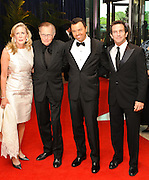 Larry King, Seth MacFarlane, Jeff Probst and guest