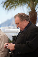 Actor Gerard Depardieu at the Valley Of Love  film photo call at the 68th Cannes Film Festival Friday 22nd May 2015, Cannes, France.