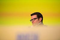 DEU, Deutschland, Germany, Berlin,12.05.2018: Dr. Marco Buschmann, Parlamentarischer Geschäftsführer der FDP-Bundestagsfraktion, beim 69. Bundesparteitag der Freien Demokratischen Partei (FDP) in der Station.