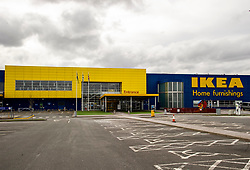 The car park at Ikea has never been so empty on a Saturday.  Rather than just shut down the food court, the store at Straiton has closed completely for the foreseeable future<br /> <br /> With government advice being followed, normal Saturdays in Penicuik have been put on hold with pubs and major shops closing to manage social interaction.