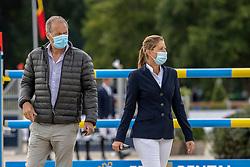 Van Roosbroeck Maurice, Van Roosbroeck Catherine, BEL<br /> Belgisch Kampioenschap Jumping  <br /> Lanaken 2020<br /> © Hippo Foto - Dirk Caremans<br /> 02/09/2020