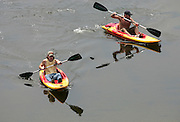 kayak james river water