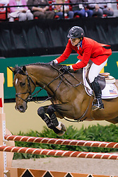 Madden Beezie, USA, Danny Boy<br /> World Cup Final Jumping - Las Vegas 2009<br /> © Hippo Foto - Dirk Caremans<br /> 18/04/2009