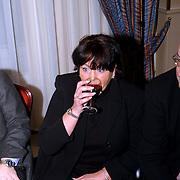 Uitreiking Omroepman van het jaar, vrouw Henk van Dorp