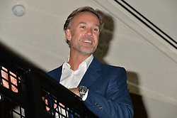 MARCUS WAREING at the Maybelline New York: Party, part of the London Fashion Week Spring Summer 15 held at Tredwell's, 4a Upper St Martins Lane, London on 12th September 2014.