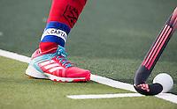 DEN HAAG - Aanvoerder Naomi van As (Laren) tijdens de hockey hoofdklasse competitiewedstrijd tussen de dames van HDM en Laren (2-0). COPYRIGHT KOEN SUYK