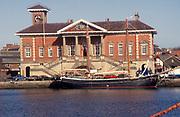 Ipswich, Suffolk, England, UK 1990s Ipswich Port Authority Custom House building 29 March 1994