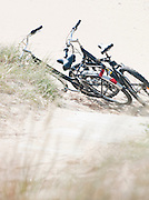Bicycles on Rivedoux-Plage, Île de Ré, France