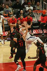 December 17, 2018 - Los Angeles, CA, U.S. - LOS ANGELES, CA - DECEMBER 17:Los Angeles Clippers Forward Danilo Gallinari (8) in traffic in the lane during the Portland Trail Blazers at Los Angeles Clippers NBA game on December 17, 2018 at Staples Center in Los Angeles, CA.. (Photo by Jevone Moore/Icon Sportswire) (Credit Image: © Jevone Moore/Icon SMI via ZUMA Press)