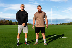 Sam Bedlow and Jake Woolmore Telegraph Feature - Rogan/JMP - 08/10/2020 - RUGBY UNION - Bristol Bears High Performance Centre - Bristol, England.